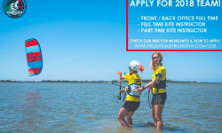 Various Positions: Front/Back Office, Full Time and Part Time Instructors at ProKite Alby Rondina