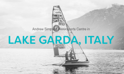 Looking for an RYA dinghy instructor in Lake Garda! at Andrew Simpson Watersports Centre