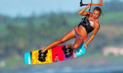 Kiteboarding instructors 2019 summer season at Kite Club Hatteras