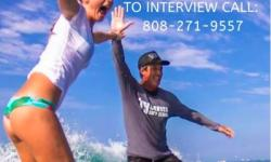 We're hiring surf instructors at Ty Gurney Surf School