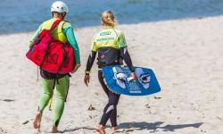 Kitesurf Instructor and Activities Guide at Kiteschule Movement Sports