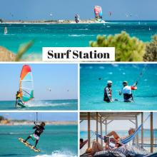 KITESURFING and WINDSURFING instructors + BEACH CREW at Surf Club Keros