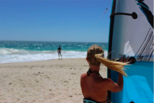 Kitesurf and surf instructor at WA Kitesurf Academy