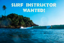 Head surf instructor wanted! at  Surf Machans