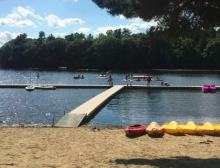 Head of Water Sports at Camp Pembroke