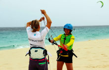 Experienced female kitesurfing instructor wanted at Atlantic Star Nautical Center