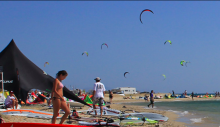 Kitesurf and windsurf instructors for the summer season 2018 at Paros Kite