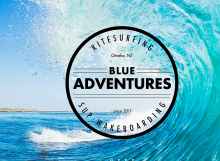 2 qualified IKO kiteboarding instructors at Blue Adventures