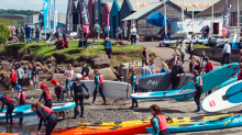Passionate and enthusiastic instructors for 2019 at Port Edgar Watersports