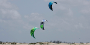 Hiring a Kite Instructor. at Che Shale